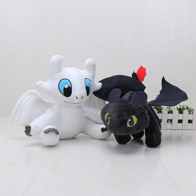 23 см 33 см Как приручить дракона Беззубик дракона игрушка Ночная ярость  светлая ярость плюшевая db1aab57225e1