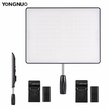 YONGNUO YN600 Air 5500K & 3200K 5500K LED Camera Video Light Photography Studio Lighting +2x Charger +2X NP F550 Battery