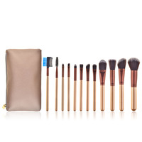Professional 12pcs Makeup Brushes Set Beauty Powder Contour Foundation Eyebrow Blush Face Brush Cosmetic Tools With