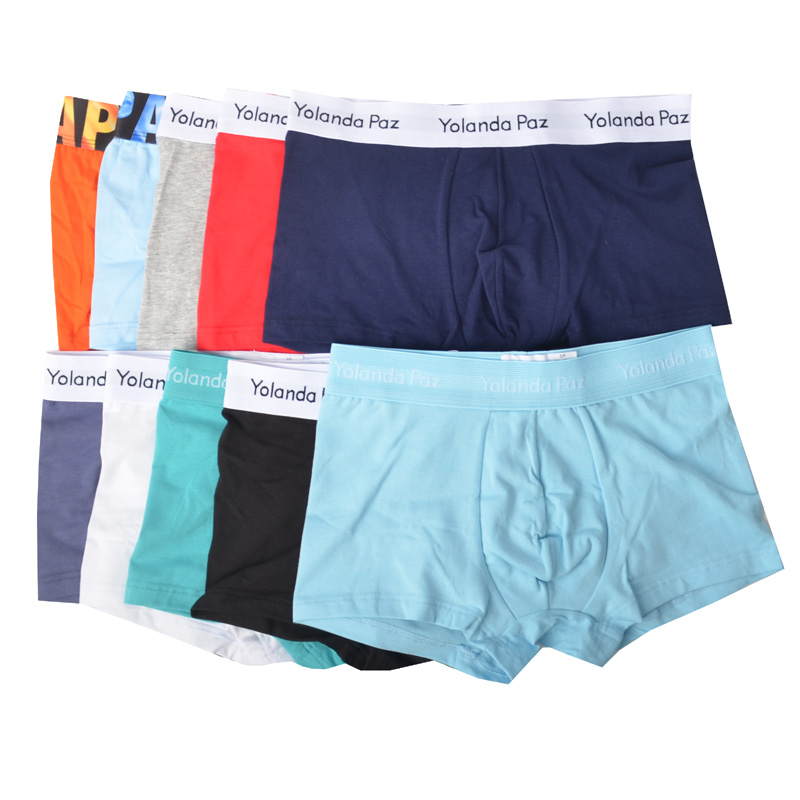 Yolanda Paz piece A lot Mens Underwear Boxers Soft Cotton Man Underpants