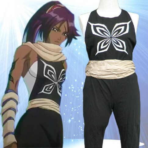 High Quality Custom Made Yoruichi Shihoin Cosplay Costume ...