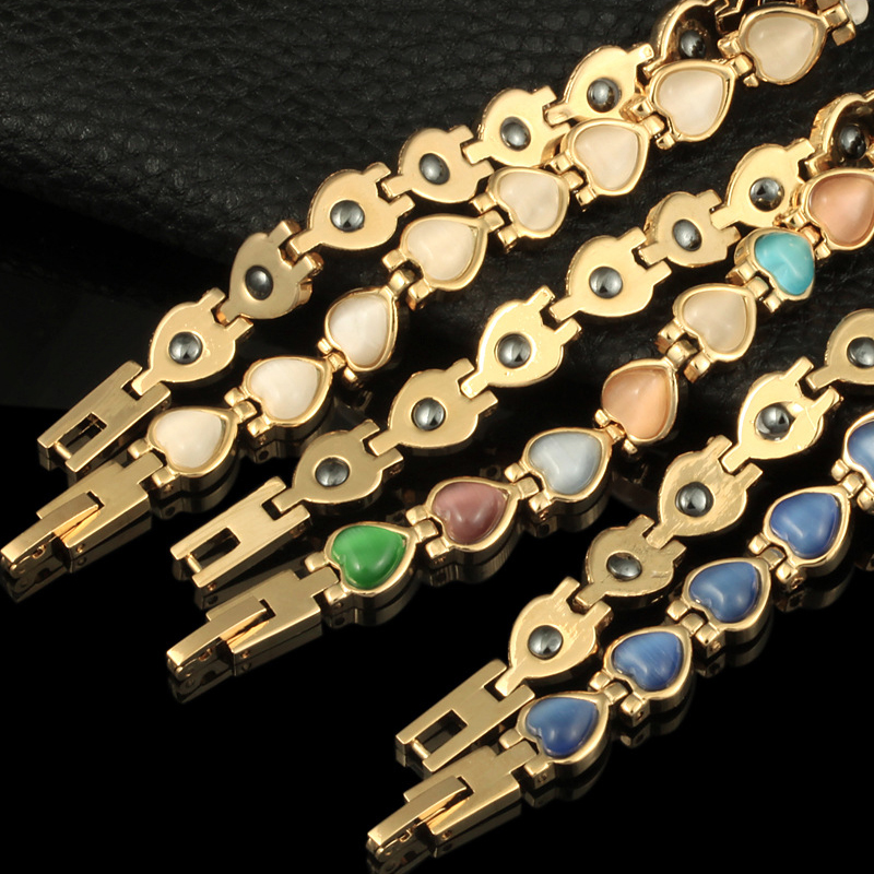 HOMOD Μαγνητική βραχιόλι χάντρες Hematite - Κοσμήματα μόδας - Φωτογραφία 6