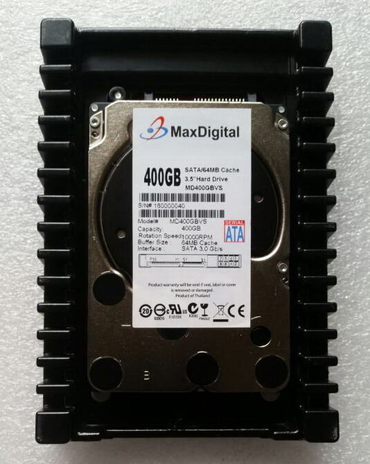VelociRaptor 400GB SATA 3.5inch 64MB 10000RPM Server Hard Disk Warranty for 1yera