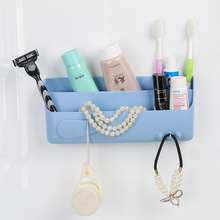 BF040 Multifunctional Wall mounted compartment  receptacle storage rack 23*10cm