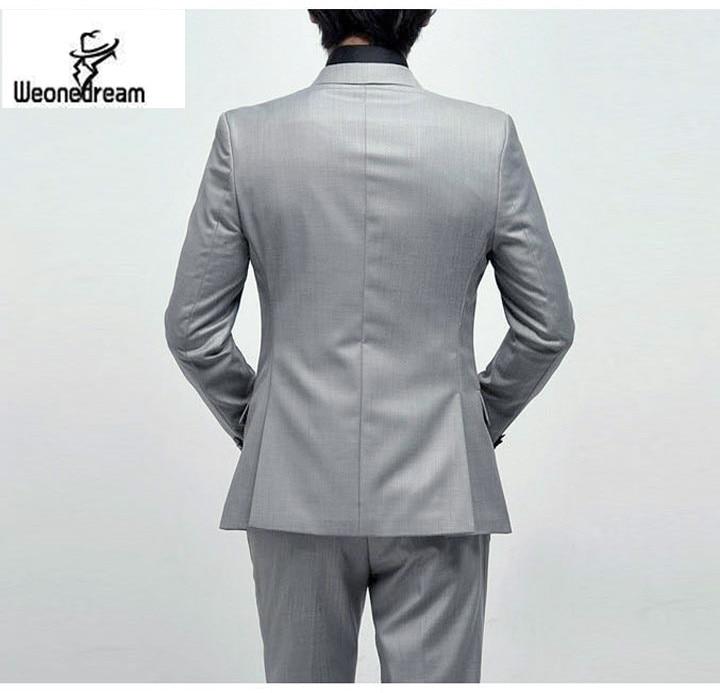 2016 New Arrival Fashion Brand Men Slim Fit Suits Man Business ...