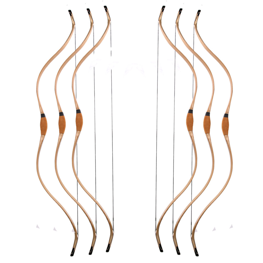 Hotsell laminated bamboo wood recurve bow 30-55lbs Chinese