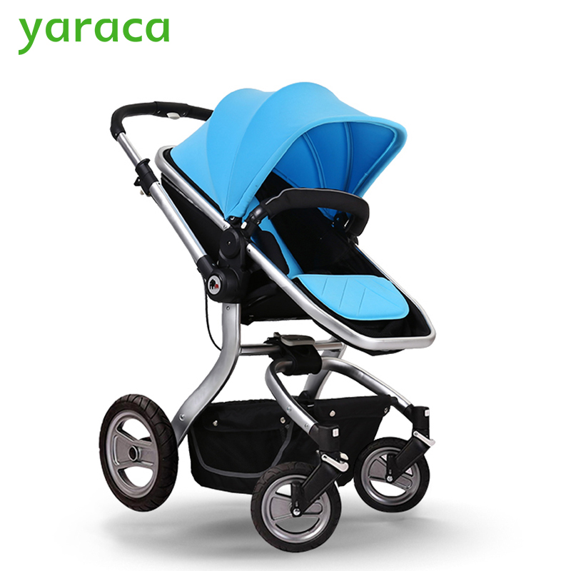 Luxury Baby Stroller High Landscope Folding Baby Carriage For Newborns Sest & Cot 2 in 1 Prams For Infant Travel System simfer b6em13001