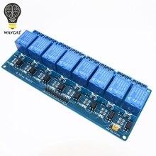 8 канала управления реле 8-канальный панель ПЛК реле 5 В модуль для arduino горячей продажи в stock.8 дорога 5 В Релейный Модуль WAVGAT