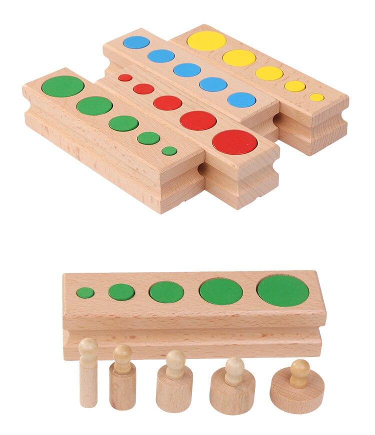 Blocos de madeira Do Bebê Desenvolvimento Prática