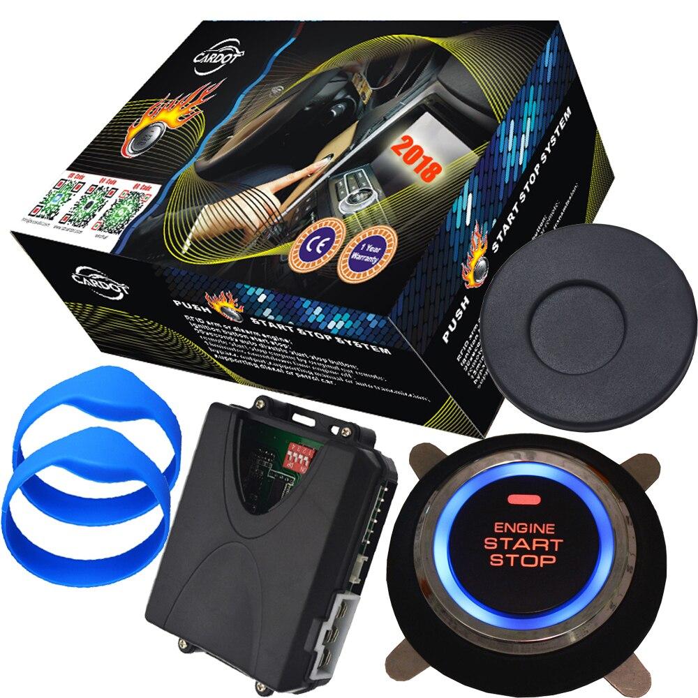 Transpondeur de poignet en caoutchouc système d'alarme invisible bouton d'arrêt de démarrage démarrage à distance arrêt moteur par voiture alarme télécommande