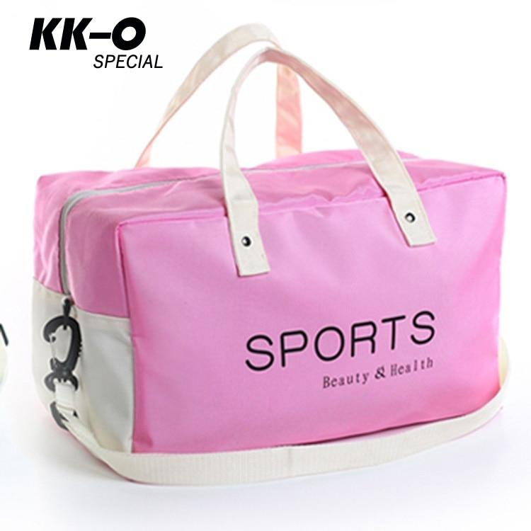 Prix pour Étanche sac De Sport Fitness grande capacité sacs de sport Femmes Hommes En Plein Air combo sec humide De Natation sport portable paquet