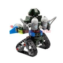 Red Alert 3 USA X-2 Blocks Future Coming Tank Military Building Block DIY Toys Robot Tank Triangle Chariot Bricks