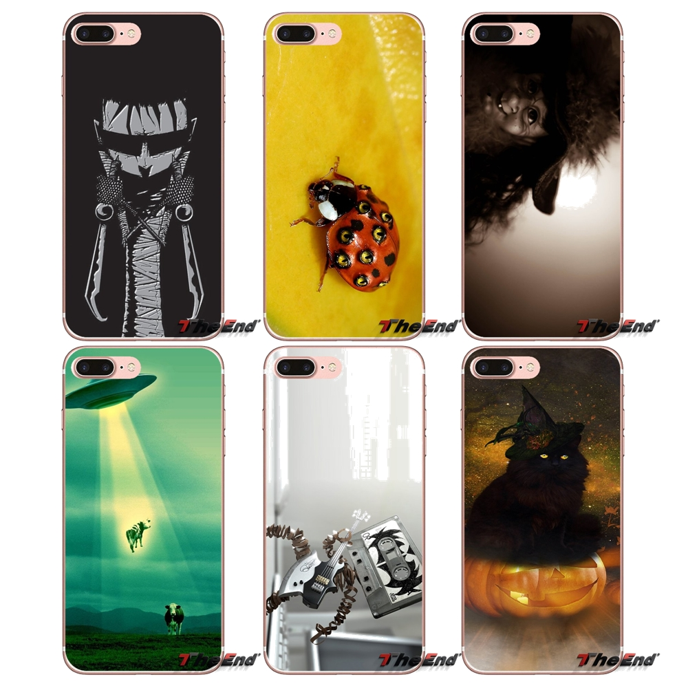 Us 0 99 Soft Transparent Cases Covers For Apple Iphone X 4 4s 5 5s Se 5c 6 6s 7 8 Plus 6splus 6plus 7plus 8plus Weird Backgrounds In Half Wrapped