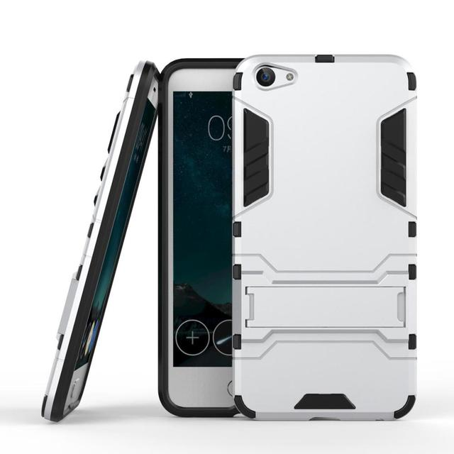 """For BBK Vivo X7 Case 5.2"""" Heavy Duty Armor Case Shockproof Hybrid Rugged Silicone Rubber Hard Back Phone Cover For Vivo X7 JZ1"""