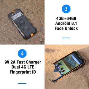 "Image 5 - Téléphone portable étanche Ulefone Armor 3 IP68 Android 8.1 5.7 ""FHD + Octa Core helio P23 4GB 64GB NFC Version mondiale Smartphone"