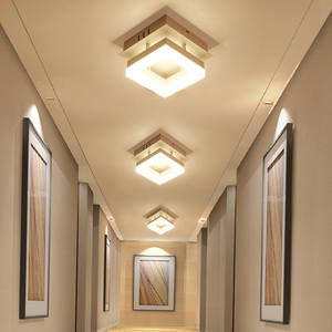 Led ceiling Chandelier light for balcony dining room corridor bedroom hallway modern simple creative lamp