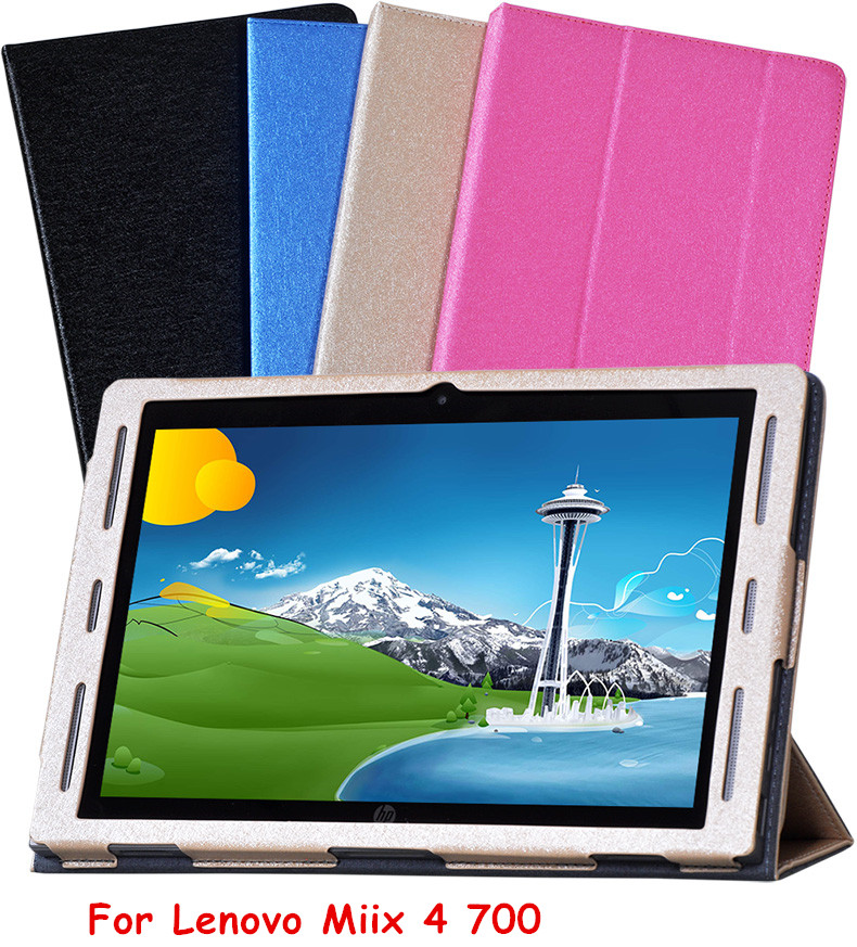 Flip Cover Leather Case For Lenovo MIIX 4 Miix 700 12 inch Tablet Case Protective Skin Shell On Miix4 700 Smart Cover Case cover case for huawei mediapad m3 youth lite 8 cpn w09 cpn al00 8 tablet protective cover skin free stylus free film