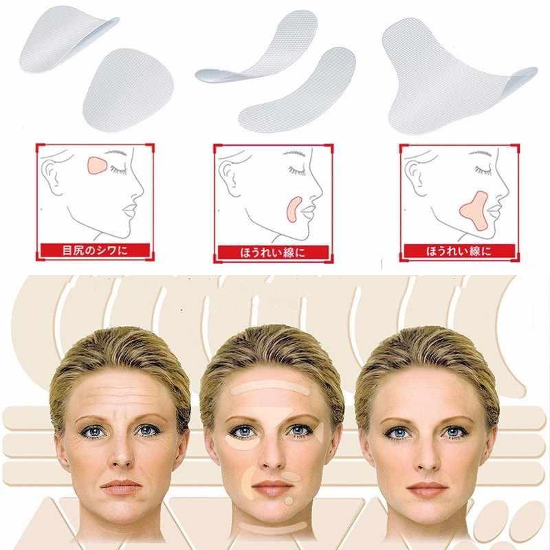 ثلاثة أنواع من التجاعيد في الوجه تسطيح بقع مضادة للتجاعيد تقلل من خطوط التجعيد ابتسامة خطوط الجبين التجعد الخطوط الدقيقة