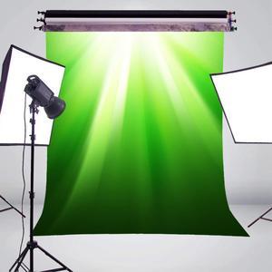 Image 3 - Fondos de fotografía de primavera verde luz del sol foto estudio Backgound pared fotografía Fondo 5x7ft