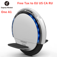 Original Ninebot One A1 Self Balancing Electric Scooter Single Wheel Scooter Support Single Dual Batteries Skateboard Hoverboard