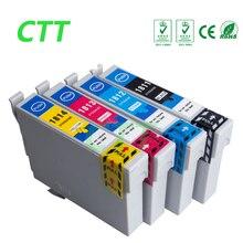4 шт. T1811-T1814 картридж для Epson XP-30/XP-102/XP-202/XP-205/XP-302/XP-305 /XP-402/XP-405/XP-215/XP-312/XP-415 принтера