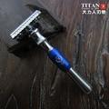 Бесплатная доставка высокая qulaity металлическую ручку бритвы, safery бритвы с лезвиями