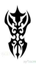 Waterproof Temporary Tattoo Sticker fire flame totem dragon hawk henna tatto stickers flash tatoo fake tattoos for women men 7