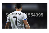 Hot Cristiano Ronaldo Custom Wall Paper HD Pictures And Prints Poster Wall Sticker Office Home Decor
