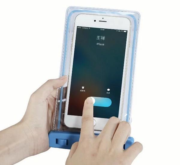 luminous Arm Band Belt Touch Screen Waterproof Mobile Phone Case For Galaxy S8/S8 Plus/C7 Pro/Note7R,Oukitel U11 Plus,Leagoo M7