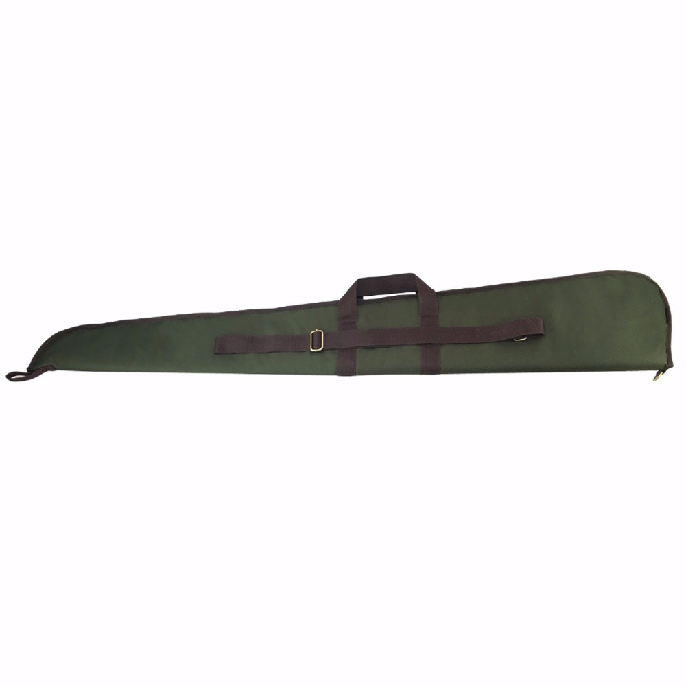 Tourbon Hunting Tactical Shotgun Case Gun Bag Range Protection Slip Padded Carrier 128CM Green Nylon Gun Accessories in Hunting Gun Accessories from Sports Entertainment