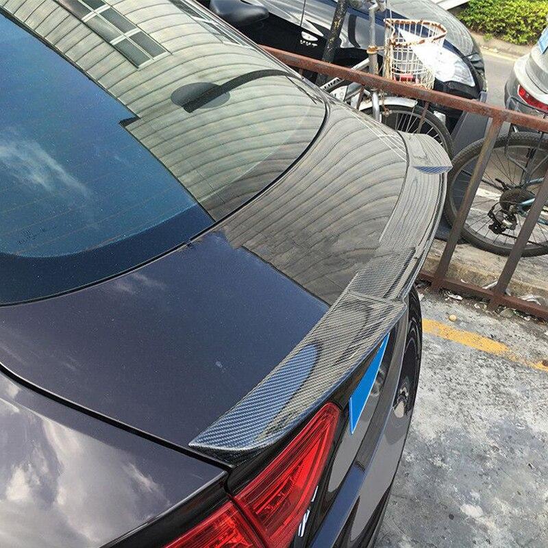 A5 4 двери M4 Стиль углерода Волокно автомобиль задний багажник спойлер крыло для Audi A5 4 двери 2010-2015