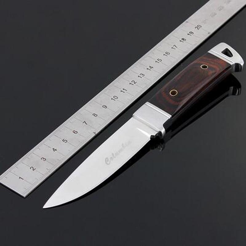 Cuchillo de caza de acero inoxidable Cuchillo Navajas Cuchillo de - Herramientas manuales - foto 2