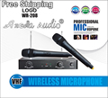 Professional VHF Handheld Wireless Microphone System Microfono For KTV Karaoke Stage DJ Conference Computer Singing Microphone