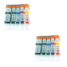 10pcs PGI5 CLI8 Compatible ink cartridge for Canon PIXMA IP4300 IP4500 IP4500X IP5200 IP5200R IP5300 MP500 MP600 mp800 Printer aomya full refillable ink cartridge pgi5 pgi 5 cli 8 for canon pixma ip4200 ip4300 ip4500 ip5200 mp500 mp530 mp600 mp610 mp800