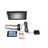 2 Din 7 Inch 7021GM GPS Navigation 1080P HD Digital Screen CarMP3 MP4 MP5 Player Bluetooth
