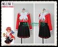 Magic Knight Rayearth Hikaru Shidou uniform Cosplay Costume wholesale retail