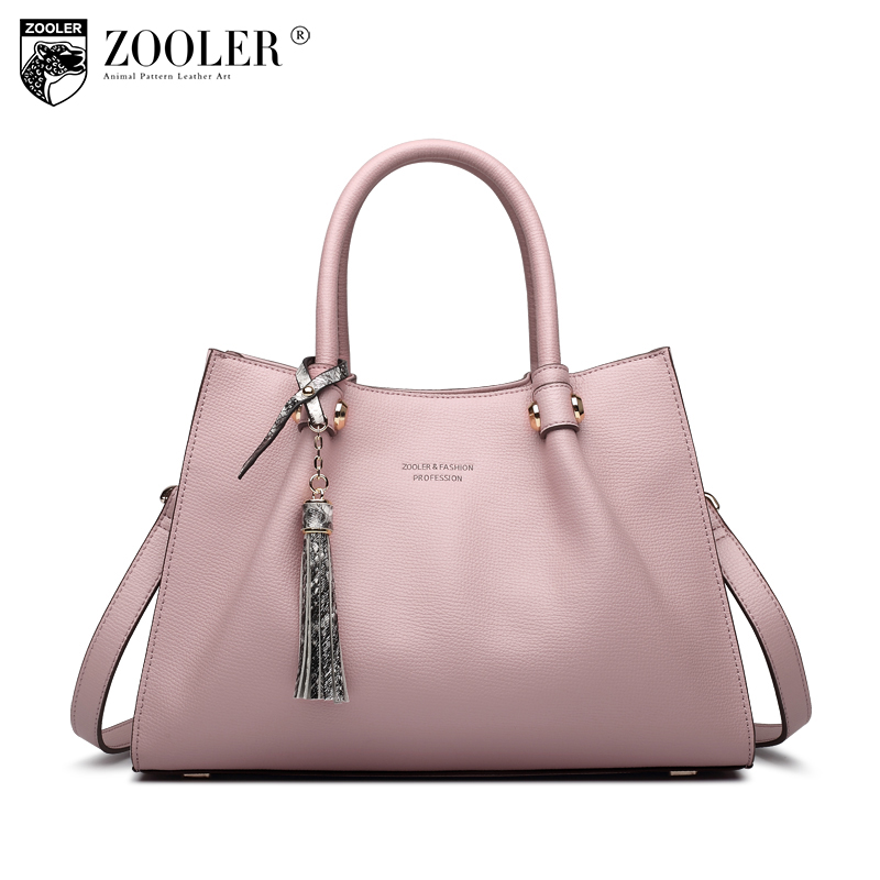 ZOOLER woman bags real leather shoulder bag type women famous brands 2018 Genuine leather Bags totes global limited Bolsas #H109