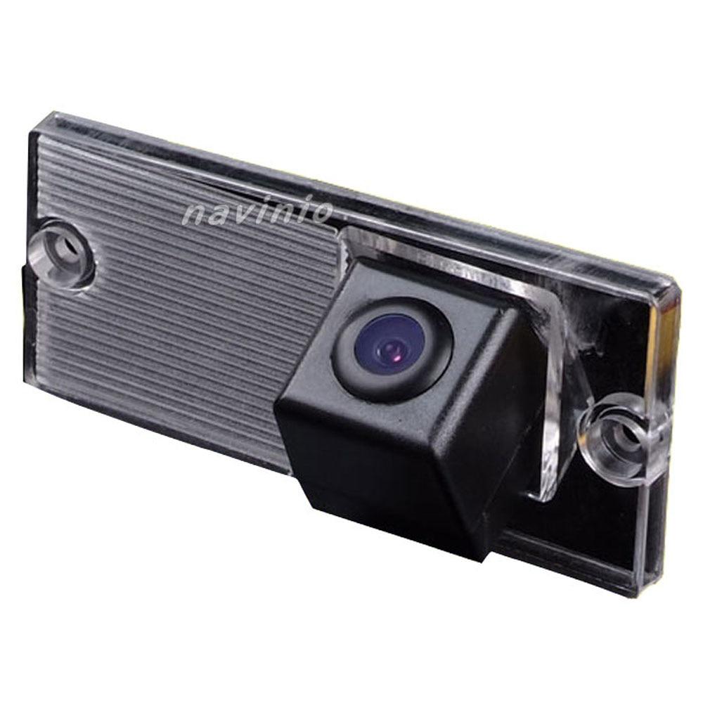 CCD parkoviště zpětný pohled zadní pohled kamera do auta pro Kia Sportage Sorento Wireless-volitelná sada pro GPS