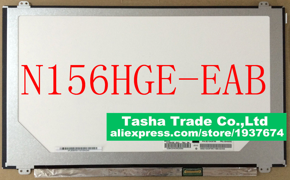 N156HGE-EAB N156HGE EAB Laptop LCD Screen FHD 1920*1080 eDP 30pin Original New Good Quality b140htn01 1 laptop lcd screen 1920 1080 fhd full hd display matrix original new edp 30pin