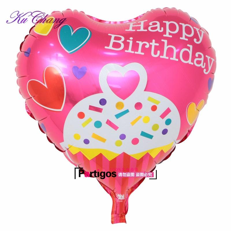Groothandel 100pcs Globos Gemengde partij Gelukkige Verjaardag Ballon voor kinderen verjaardag decoraties feestartikelen 18inch Helium Ballon-in Ballonnen & Accessoires van Huis & Tuin op  Groep 2