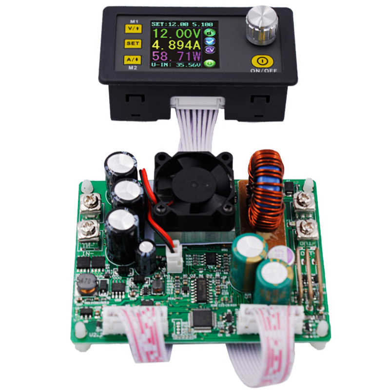 DPS5015 Lcd Voltmeter 50V 15A Stroom Spanning Tester Step-Down Programmeerbare Power Supply Module Regulator Converter 41% Off
