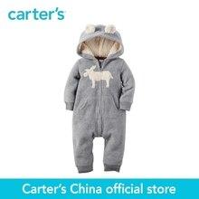 1 pcs bébé enfants enfants À Capuchon Polaire Salopette de Carter 118G705, vendu par Carter de Chine boutique officielle
