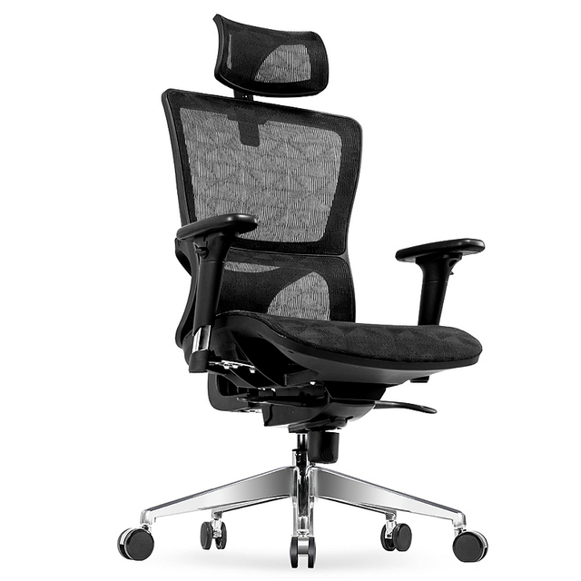 Creative Ergonomics Offi Chair Lifted Rotated Leisure Swivel Household Reclining Net Cloth Computer Gaming Stool
