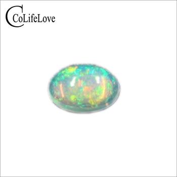 Belo brilho opala pedra solta 100% natural opala oval cut loose gemstone 0.3 a 1.5 ct ct tirar fotos para cada ordem