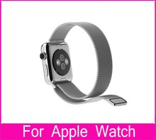 For Apple Watch Band 1 1 original 38mm 42mm Milanese Loop Woven stainless steel With Metal