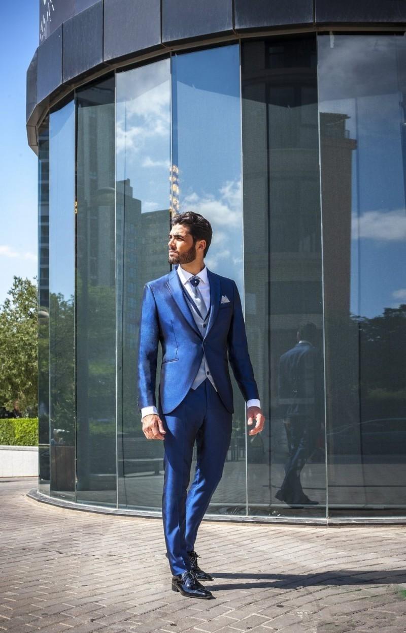 182eecb6b Slim Pantalones As 3 De Moda Brillante 2019 Boda Fit Vestido Traje Chaleco  Padrino Los Picture ...
