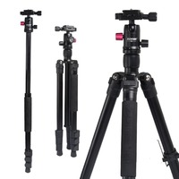 Zomei M3 Camera Tripod Quick Release Plate For SLR DSLR Camera Professional Lightweight Aluminium Alloy With Ball Head