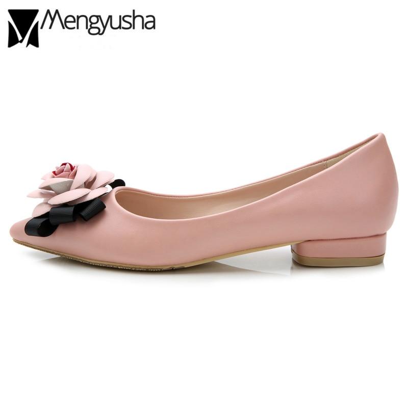 Pink 2cm Marca Ballet Cm 2 5 Pink Cuero Señoras Camelia Vestido Beige De Punta Tacones BqpWUxfn