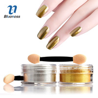 5g Box Nail Glitter Mirror Powder For Nails Chrome Dust Pigment Gold And Silver Beauty Manicure