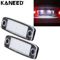 KANEED Luce Della Targa Per Hyundai 18 LED SMD-Auto Luci della Targa Lampada Per Hyundai Sonata Luce di Licenza